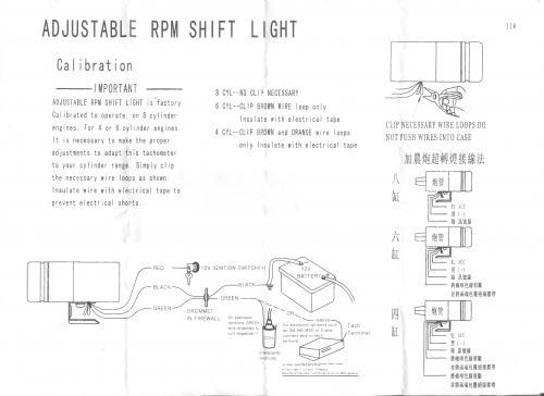 Rpm Monthly Calendar : Shift light mnsbr