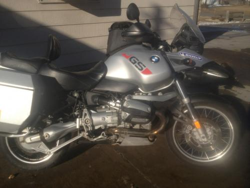 2001 bmw r1150gs 8500 30k miles. Black Bedroom Furniture Sets. Home Design Ideas