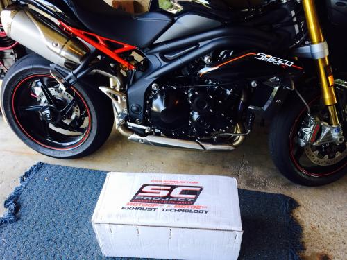 Sc Project Exhaust Install - MNSBR