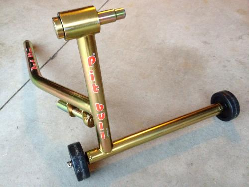 sold - selling ducati single side pitbull stand - mnsbr