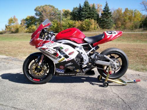 Sold 2007 Ninja 650R Racebike (Superbike) - MNSBR