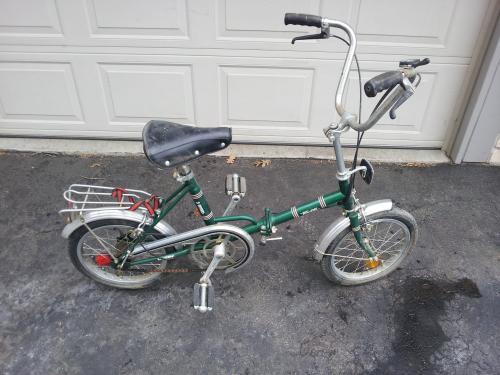 Can Anyone Identify This Raiegh Folder Bike Forums